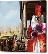 Tibetan Spaniel Art Canvas Print By Nobility Dogs Canvas Print