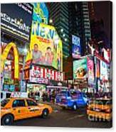 Times Square - New York City Canvas Print