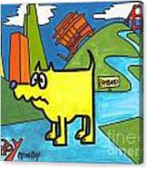 Tippy By The Bay Canvas Print
