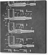 Tobacco Pipe Patent Canvas Print