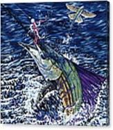 Top Sail Canvas Print