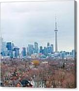 Toronto View Canvas Print