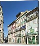 Torre Dos Clerigos Porto Portugal Canvas Print