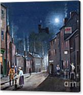 Tower Street Dudley C1930s Canvas Print
