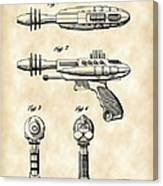 Toy Ray Gun Patent 1952 - Vintage Canvas Print