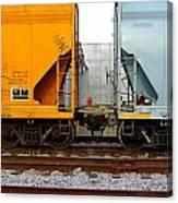 Train Cars 2 Canvas Print