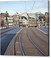 Transport Infrastructure In Amsterdam Canvas Print