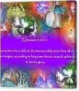 Treasures Of Heaven Canvas Print