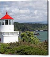 Trinidad Head Light House On The Coast Canvas Print