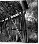 Trinity Road Covered Bridge Canvas Print