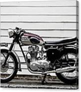 Triumph Trophy Tr6r 1961 Canvas Print