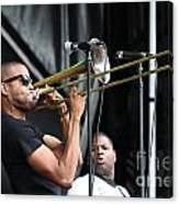 Musician Trombone Shorty Canvas Print