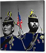 Troopers Indian Wars Memorial Encampment Ft. Lowell Tucson Arizona 1970-2008 Canvas Print