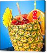 Tropical Drink Canvas Print