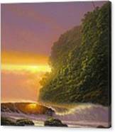 Tropical Radiance Canvas Print