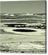 Desert Golf Canvas Print