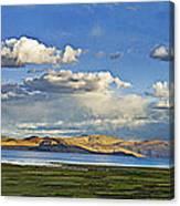 Tsomoriri Lake Leh India Canvas Print