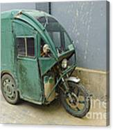Tuk Tuk 3-wheeled Motorcycle Canvas Print
