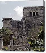 Tulum Ruins Mexico Canvas Print