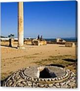 Tunisia. Carthage. The Baths Canvas Print