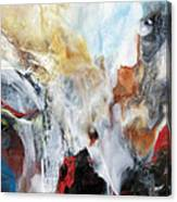 Turbulent Canvas Print