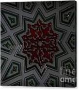 Turkish Tile Design Canvas Print