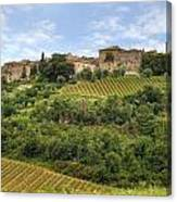 Tuscany - Castelnuovo Dell'abate Canvas Print