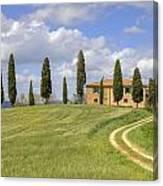 Tuscany - Pienza Canvas Print