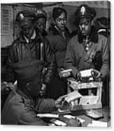 Tuskegee Airmen, 1945 Canvas Print