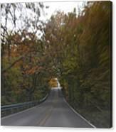 Twice The Speed Of Autumn Canvas Print