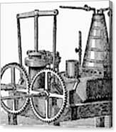 Twin-screw Steamer, 1878 Canvas Print