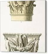 Two Column Capitals Canvas Print