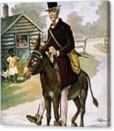 Uncle Toms Cabin, C1899 Canvas Print