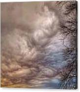 Undulatus Asperatus Clouds Canvas Print