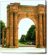 Union Station Arch Canvas Print