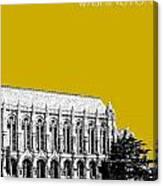 University Of Washington - Suzzallo Library - Gold Canvas Print