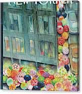New Yorker April 23rd, 2007 Canvas Print