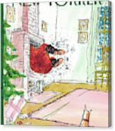 New Yorker December 13th, 2010 Canvas Print