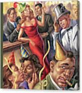New Yorker December 25th, 2006 Canvas Print