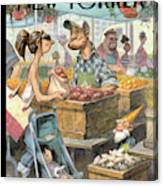 New Yorker May 30th, 2011 Canvas Print