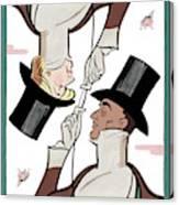 Eustace Tillarobama Canvas Print