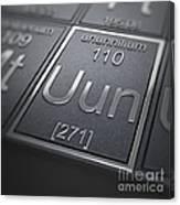Ununnilium Chemical Element Canvas Print