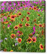 Up Close In The Garden 2 Canvas Print