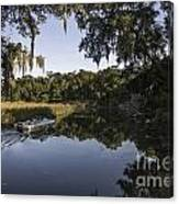 Up The Creek Canvas Print