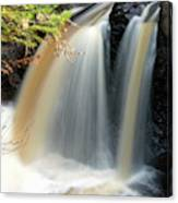 Usa, Minnesota, Lutsen, Cascade River Canvas Print