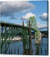 Usa, Oregon, Newport, Us 101 Bridge Canvas Print