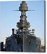 Uss Texas Bow Canvas Print