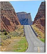 Utah Highway Canvas Print