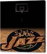 Utah Jazz Canvas Print