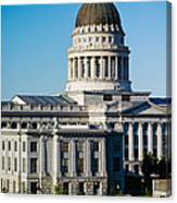 Utah State Capitol Building, Salt Lake Canvas Print